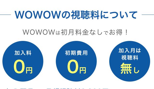 wowow ドラマ w 動画